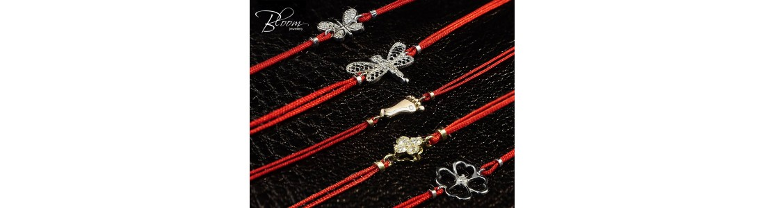 Red String Bracelet Bloom Jewellery