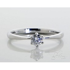 Wonderful Engagement Ring with Diamond 18K