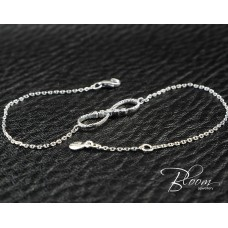 Eternity Diamond Bracelet White Gold 18K