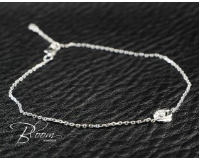 Delicate White Gold Diamond Bracelet