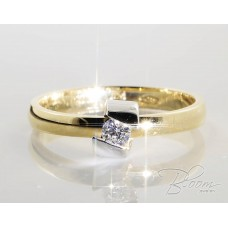 Unusual Diamond Engagement Ring