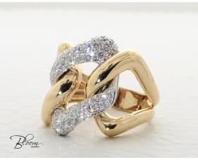 Ladies Massive Diamond Ring