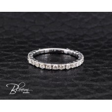 Diamond Wedding Band 18K