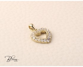 Heart Pendant 14K Yellow Gold