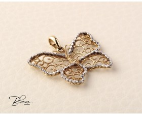Yellow Gold Butterfly Pendant