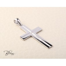 Classic Cross Necklace 14K Solid Gold Bloom Jewellery