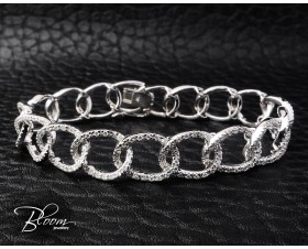 Gorgeous White Gold Diamond Bracelet