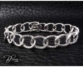 Gorgeous White Gold Diamond Bracelet