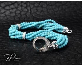 Turquoise Diamond Bracelet