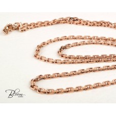Custom order 14K Solid Rose Gold Chain 3.00-3.20 mm. 26 inches Bloom Jewellery