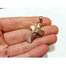 Additional Paiment Custom Order 14K Rose Gold Cross for Mr. James